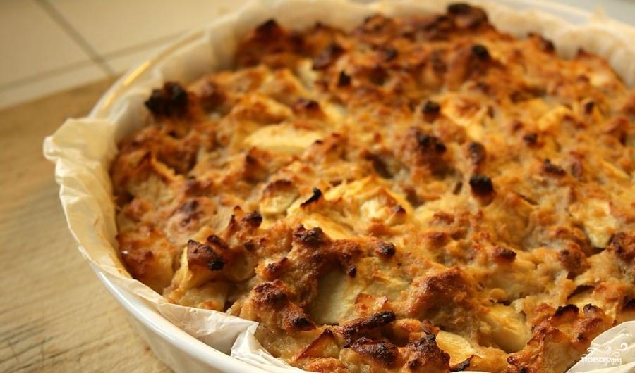 Хлебный пирог - фото шаг 4