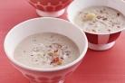 Сливочный суп из моллюсков