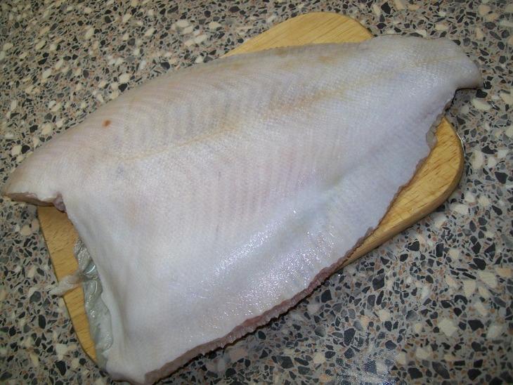 Рецепт Камбала в духовке со сметаной