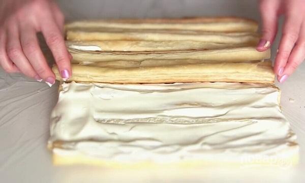 """Торт """"Полено"""" (самый простой рецепт) - фото шаг 7"""