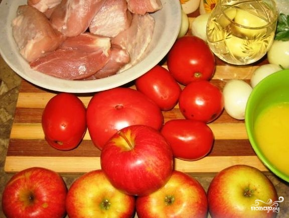 Рецепт Свинина по-немецки