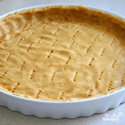 Торт Линцер с малиной и яблоками - фото шаг 8