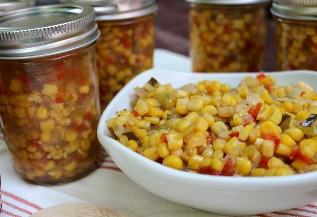 Салат из кукурузы на зиму - фото шаг 5