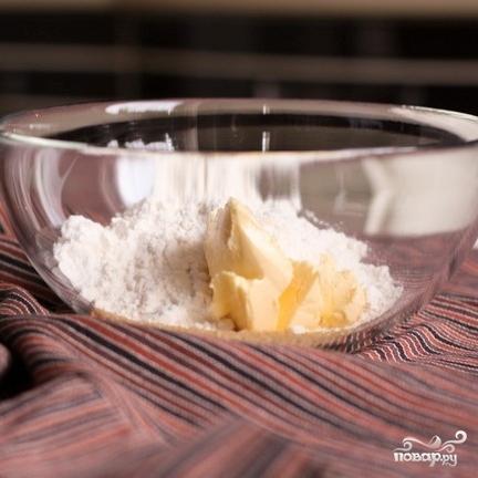 Творожник со взбитыми сливками и ванилью - фото шаг 1