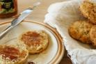 Медовые булочки с орехами