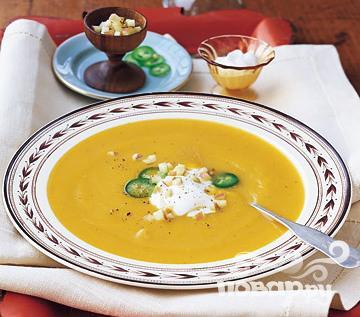 Рецепт Тыквенно-яблочный суп