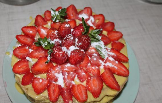 Медовый торт на сковороде - фото шаг 22