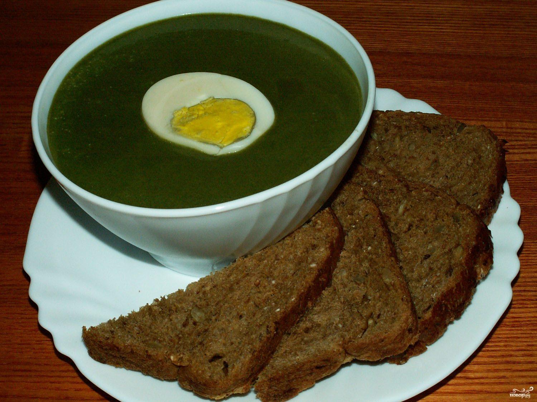 Рецепт Суп из шпината для похудения