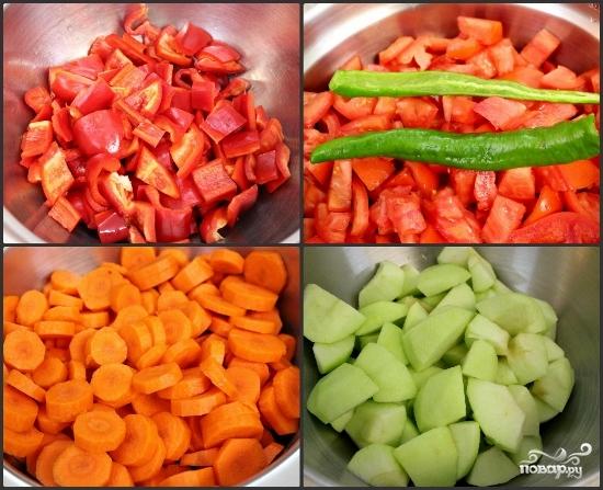 Рецепт Аджика из помидорчиков на зиму