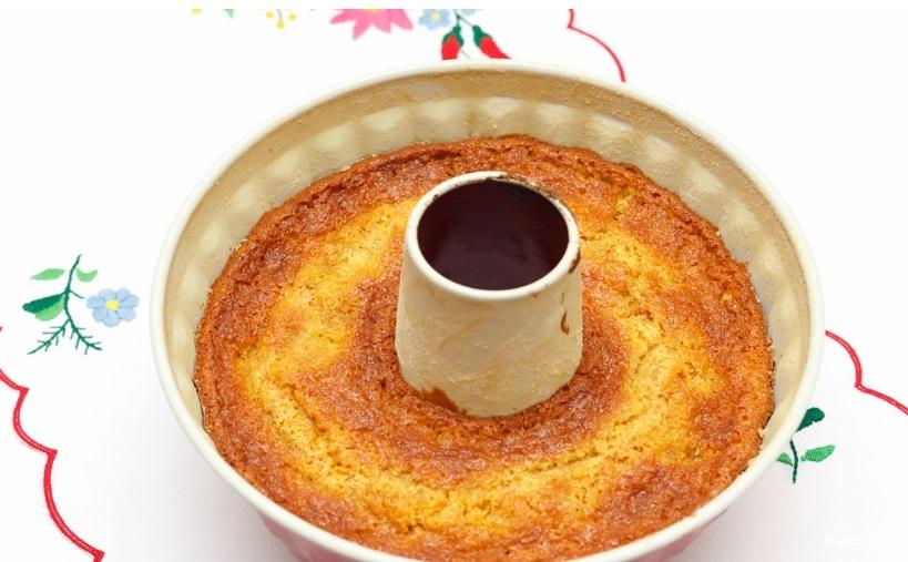 Торт из манки - фото шаг 4