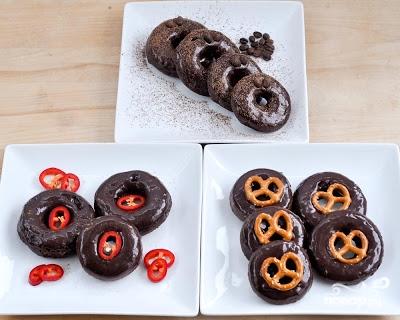 Шоколадные пончики - фото шаг 8
