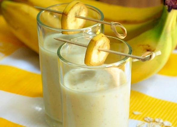 Банановый смузи с овсянкой - фото шаг 2