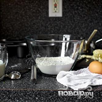 Поповеры с кукурузой и луком - фото шаг 2