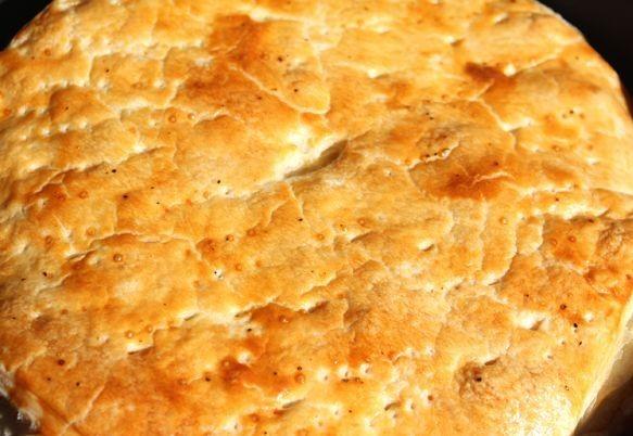 Пирог с фаршем и сыром - фото шаг 8