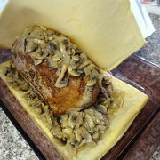Мясо в тесте в духовке - фото шаг 5