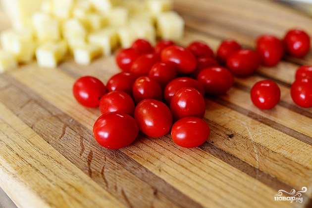 Салат с макаронами и помидорами - фото шаг 2
