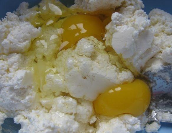 Рецепт Воздушный творожный пирог