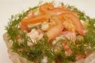 Салат Любимый с креветками