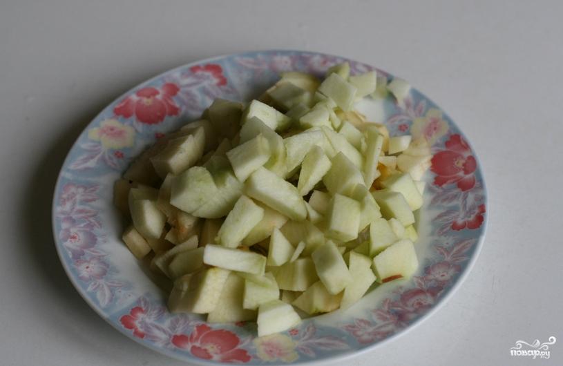 Крем яблочный со сливками - фото шаг 1