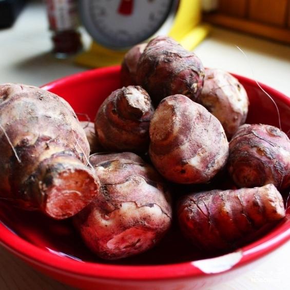 Рецепт Пюре из топинамбура