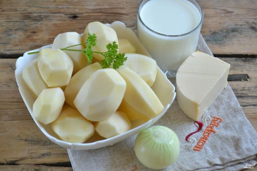 "Картошка под соусом ""Бешамель"" - фото шаг 1"