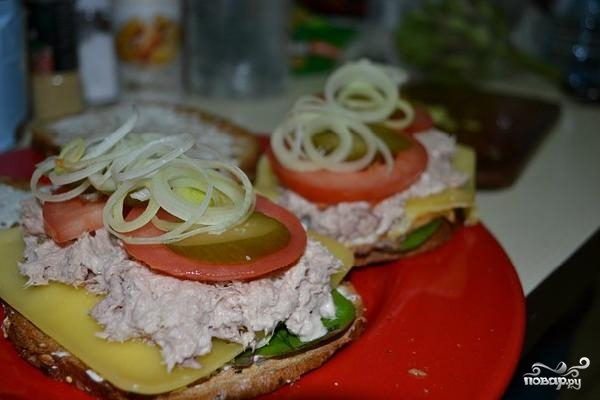 Сэндвич за 10 минут - фото шаг 11