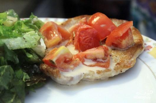 Свинина в чесночно-сметанном соусе - фото шаг 3