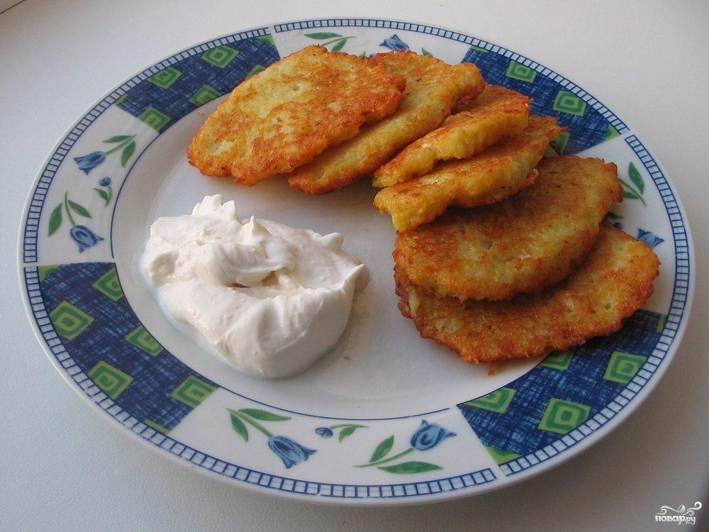 Рецепт Картофельные деруны