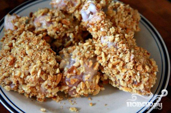 Курица в вафельной панировке - фото шаг 4