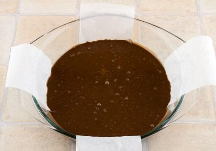 Постный кекс с вареньем - фото шаг 5