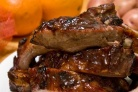 Свиные ребрышки барбекю