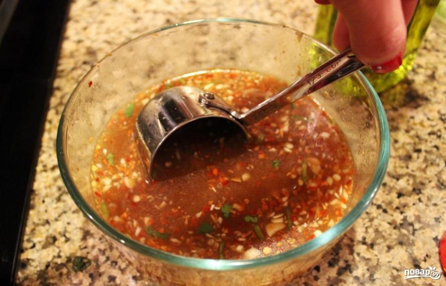 Салат с мясом вкусный - фото шаг 3