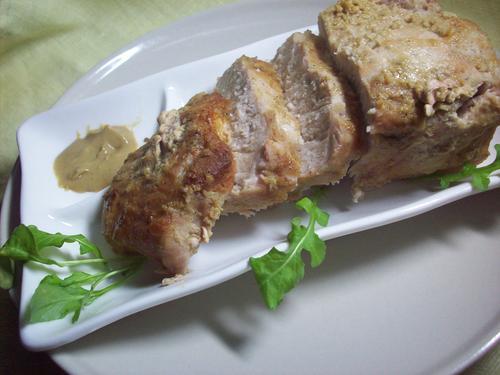 Мясо с горчицей в духовке - фото шаг 6