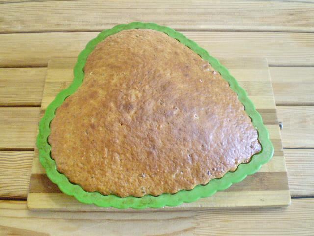 Простой пирог к чаю - фото шаг 6