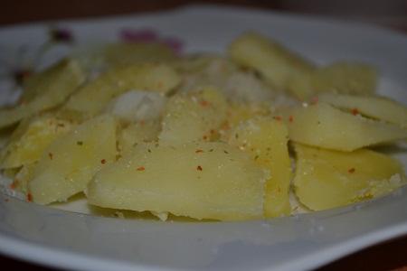 Сытный салат  - фото шаг 2