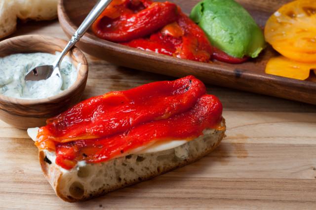 Сэндвичи с болгарским перцем - фото шаг 5