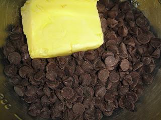Брауни с черным шоколадом - фото шаг 2