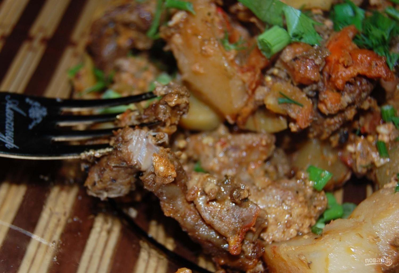 горшочки в духовке со свининой и овощами рецепт