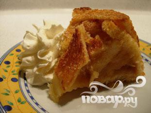 Яблочная шарлотка с хлебом - фото шаг 9