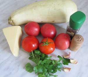 Рецепт Запеченные кабачки в духовке