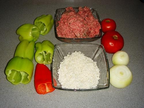 Рецепт Голубцы из болгарского перца