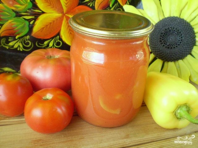 Закатка томатного сока на зиму