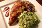 Запеченная курица по-мароккански