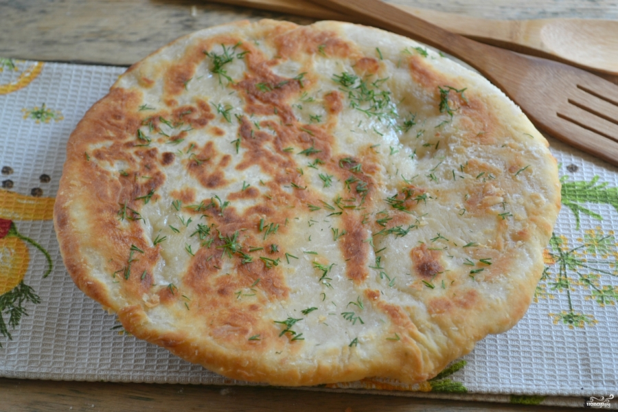 Простое тесто на хачапури