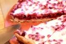 Открытый пирог с брусникой