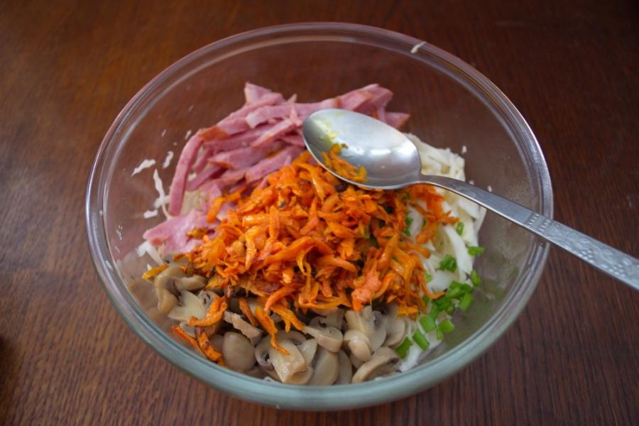Краковский салат - фото шаг 7