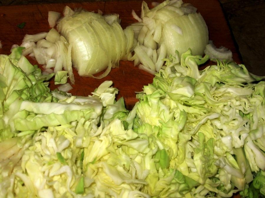 Рецепт Вертута с капустой