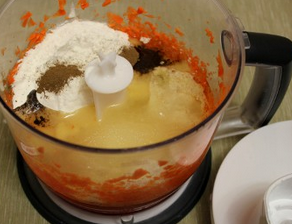 Морковные кексики - фото шаг 3