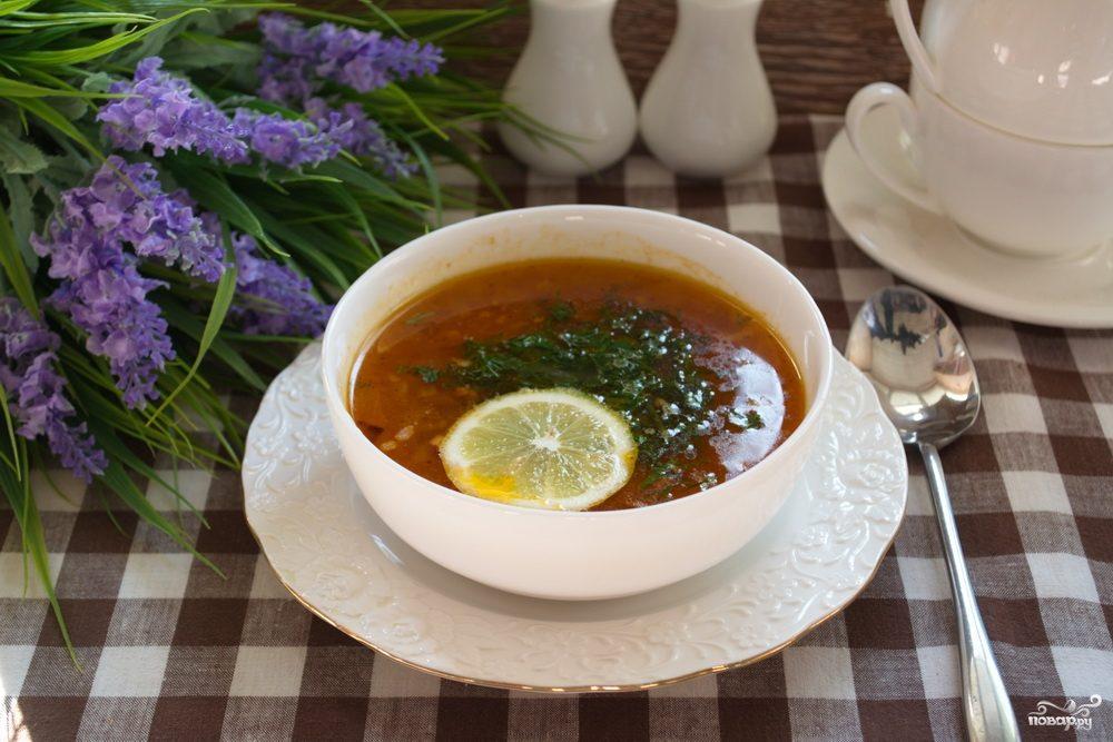 Рецепт солянки классическая, сборная, мясная солянка