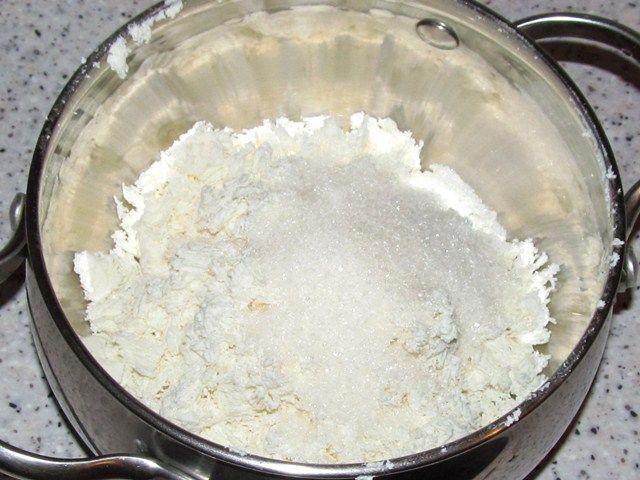 Крем творожно-сливочный - фото шаг 3
